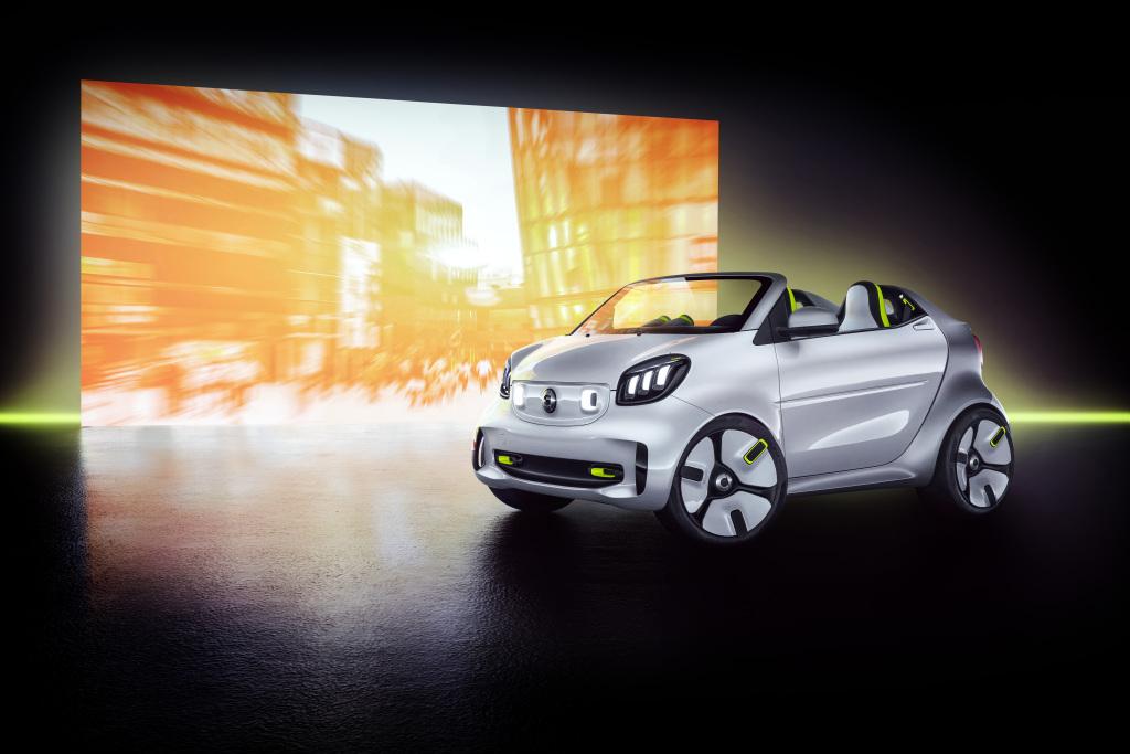 Forease. El prototipo con el que smart conmemorará su 20 aniversario en París